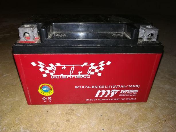 Akumulator YTX7A-BS 12v 7Ah WTX7A-BS MTX7A-BS Żelowy GEL