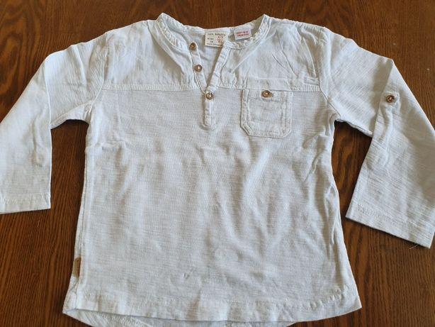 Koszulka biała rozmiar 98 ZARA
