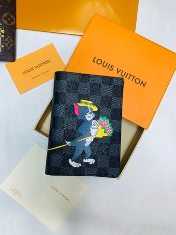 Обложка для паспорта паспортница обкладинка Louis Vuitton a155