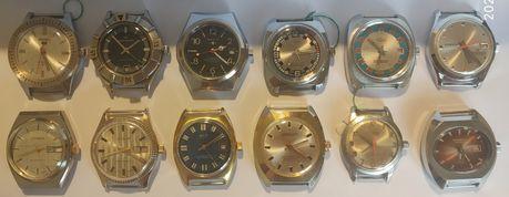Relógios corda manual*Continental*Basis*Timex*Seiko*Emir*Citikon*
