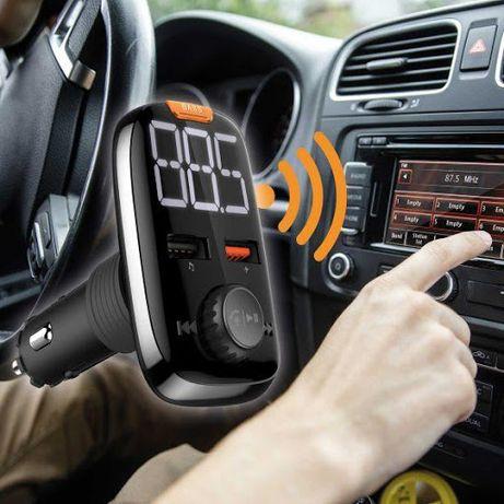 NOWY Zestaw głośnomówiący samochodowy MAGINON Bluetooth, nadajnik FM