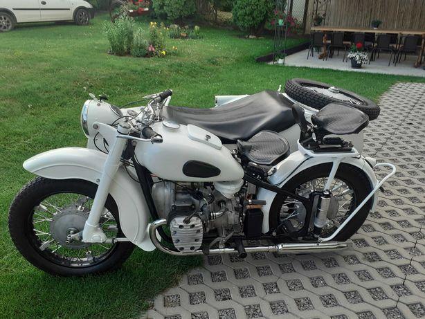 Renowacja motocykli zabytkowych shl wfm junak wsk mz m 72 k 750