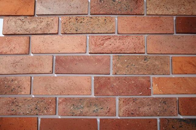 Retro cegła, stare cegły, płytki z cegły, cięte cegły, lica, Śląsk