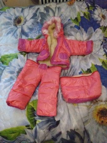 Комбинезон детский зимний продам