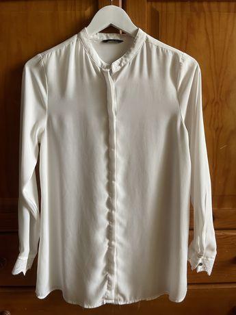 Camisa branca Sacoor S senhora