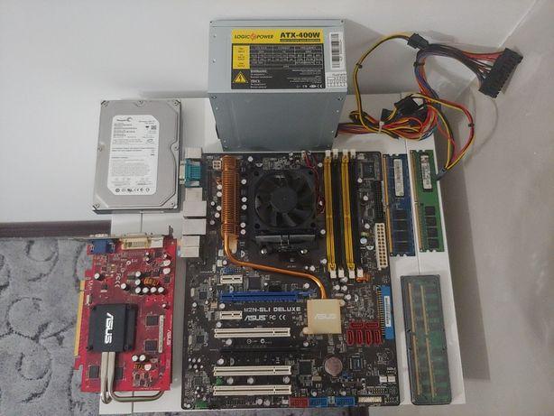 Видеокарта, Материнская плата, Процессор, Оперативная память, HDD, БП