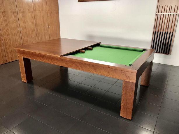 Bilhares europa mod Queen oferta tampo jantar e Ping pong