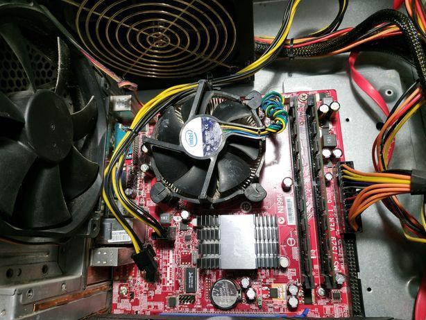 Материнская плата + процессор + оперативная память