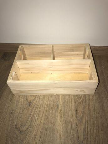 Дерев'яна подарункова коробка  ящик органайзер