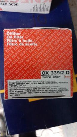 Фильтр масляный (OX3392D) Mahle/Knecht OX 339/2D