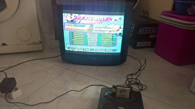 Mega drive II como nova!