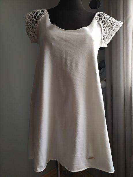 Biała sukienka r 40