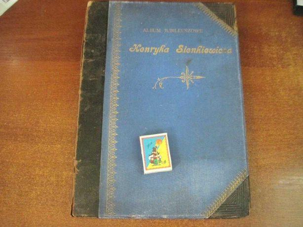 Генрик Сенкевич. Альбом иллюстраций  к романам. Варшава 1898