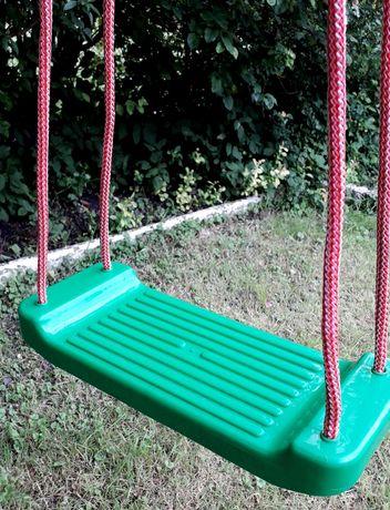 Huśtawka plastikowa ogrodowa