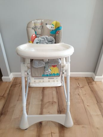 Krzesełko do karmienia PEPE jak nowe!!