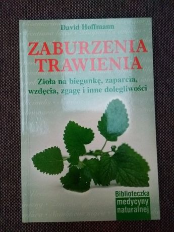 """Książka """"Zaburzenia trawienia"""" David Hofmann poradnik WYSYŁKA"""