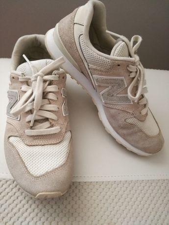 Buty New Balance r.38 beżowe damskie