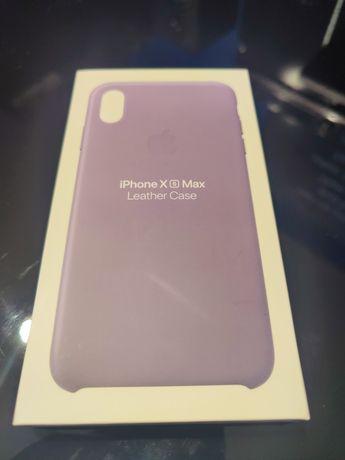 Etui iPhone XS max fioletowe