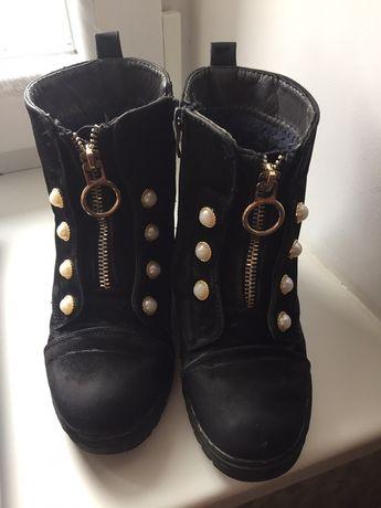 Зимние ботинки,сапожки 31-32 р.