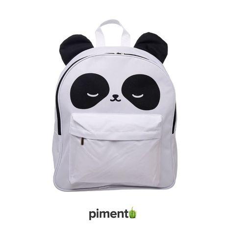 Mochila Escola Panda 3D