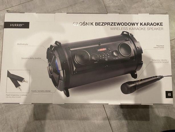 Głośnik bezprzewodowy Karaoke Bluetooth mikrofon
