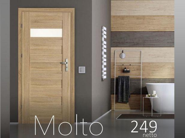 """Drzwi wewnętrzne ramowe """"Molto""""w super promocji!24"""