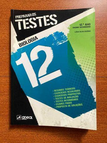 Vendo livro Preparar testes Biologia 12º ano