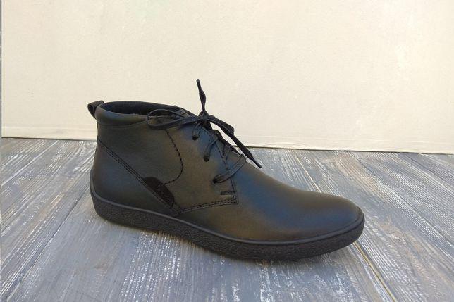 100% Черевики ШКІРЯНІ зимові - зручне і тепле взуття! Ботинки