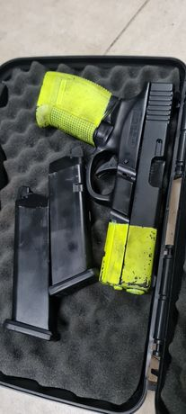 Armas airsoft , glock e sniper