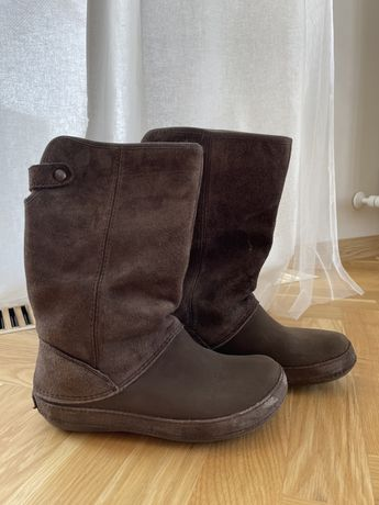 Зимние сапоги CROCS и ботиночки Украина
