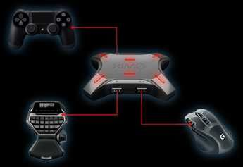 Zestaw XIM4 (PS4, XBox), Logitech G13 ,Logitech G502 Proteus Spectrum.