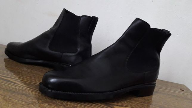 Tod's 45-46 italy Tods челси деми ботинки сапоги осень