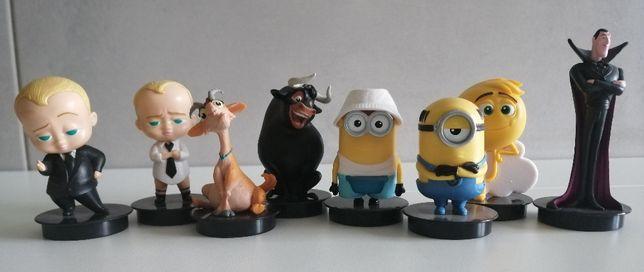 Figurki z kubków Multikino - Bobas, Minionki, Emotki...
