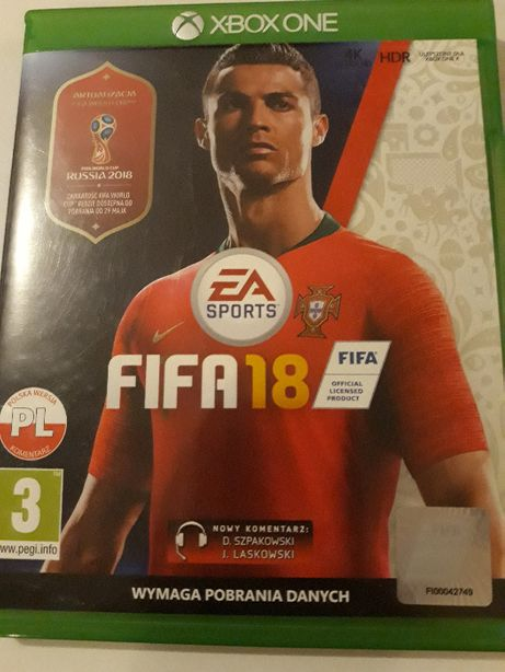 Fifa 18 2018 PL XBOX ONE *KR