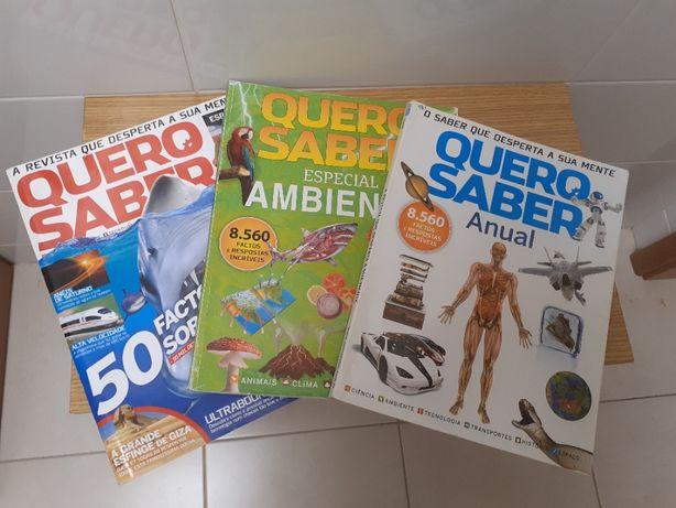 """Revistas """"Quero saber"""""""