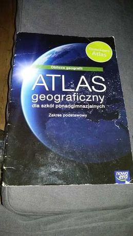 Atlas geograficzny poziom podstawowy