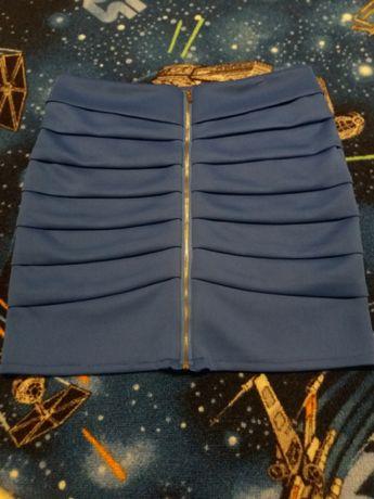 Spódniczka niebieska M
