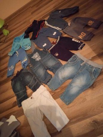 Spodnie chłopięce 62-68