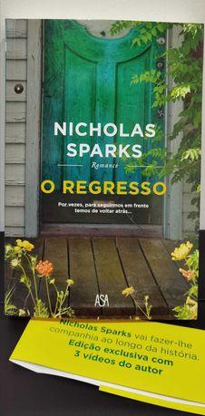 O regresso de Nicholas Sparks