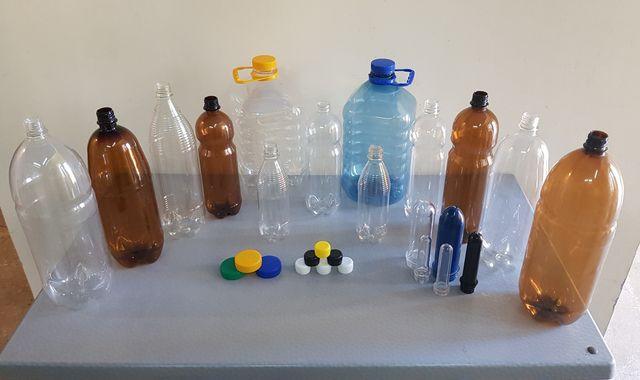Пластиковая бутылка ПЭТ тара.(1,40 грн.)