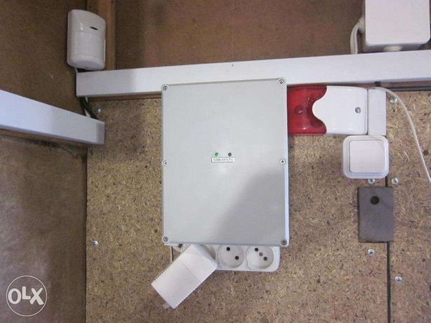 Установка GSM охранной сигнализации