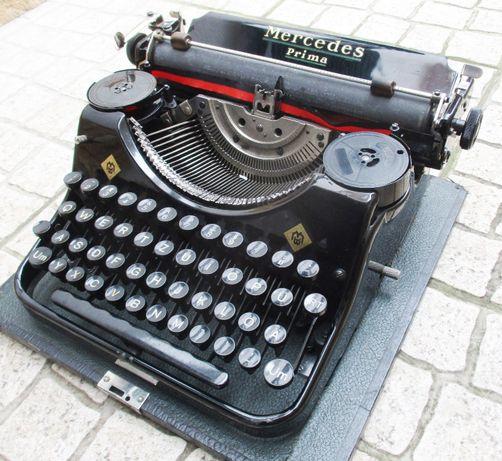 1936 – Mercedes - Maquina de escrever