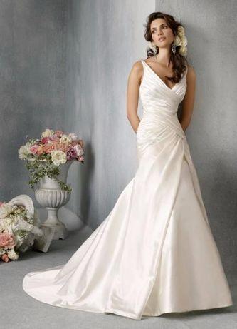 suknia ślubna rozmiar 38 + koło, buty, welon, szal i pokrowiec OKAZJA