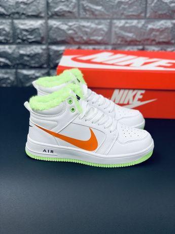 Nike Air Force 2 зимние кожаные кроссовки ботинки Найк АФ 2020 Lux!
