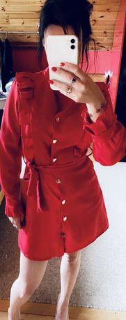 Sukienka czerwona rozmiar s
