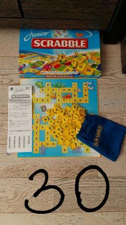 Gry planszowe Scrabble ... Zegar