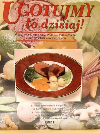 Książka kucharska - Ugotujmy to dzisiaj!