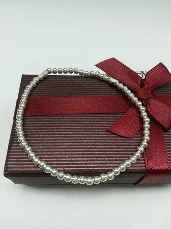 Srebrna bransoletka srebro 925 kuleczki