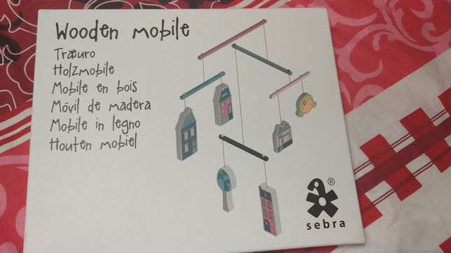 Деревянный мобайл (мобиль)