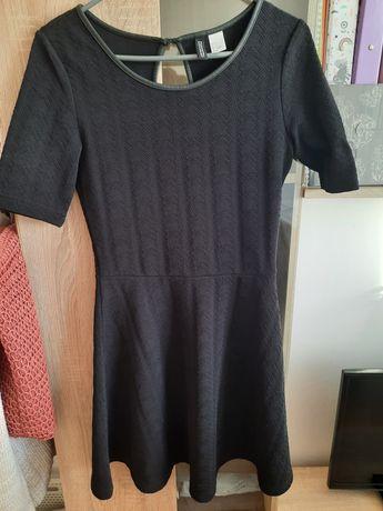 Sukienka h&m czarna